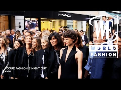 Vogue Fashion's Night Out Paris