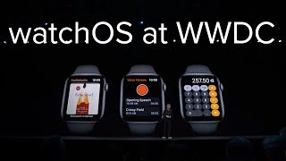 Apple watchOS announcement in 6 minutes