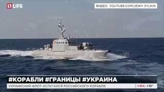 Украинский флот испугался российского корабля