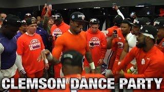 Clemson Football: Deshaun Watson & Teammates Locker Room Dance Party