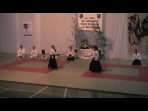 CMOM Aikido - 07.02.2009 - Gala des Arts Martiaux (Aikibudo) 3/11