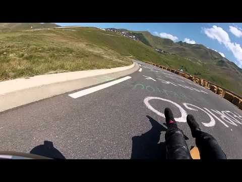 Euro Tour 2012 - Peyragudes Classic Luge Raw Run