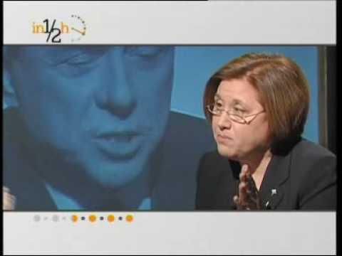 Berlusconi lascia lo studio di Lucia Annunziata – Lucia Annunziata lascia lo studio di Anno Zero.