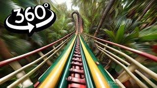 VR Video 360° Angel Falls Venezuela VR Roller Coaster 360 degree