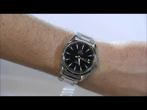Omega Seamaster Aqua Terra 15,000 Gauss Watch Review