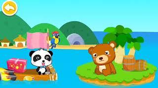 Game Anak Bermain Petualangan Kapten Kapal Menjelajahi Lautan - Kapten Panda Kecil