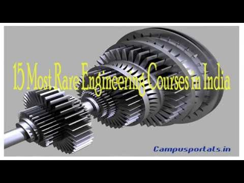15 MOST RARE ENGINEERING COURSES IN INDIA
