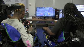 This Organization Makes Video Games More Accessible With Adaptive Controllers | NBC Nightly News