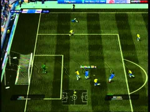 Fifa 11 | Exotiiczz 3d X Vs Xxx Chromz | Chelsea Vs Brazil Highlights video