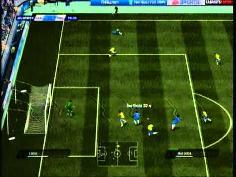 FIFA 11 | Exotiiczz 3D x vs xXx ChroMz | Chelsea vs Brazil Highlights thumbnail