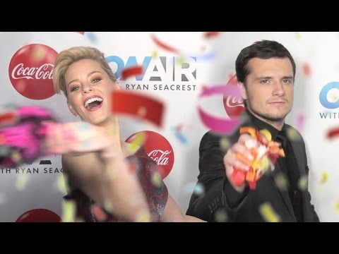 Mockingjay SLOW-MO Booth! | On Air with Ryan Seacrest