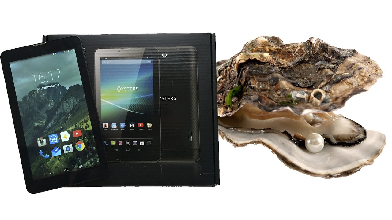 Обзор планшета Oysters T72X 3G