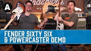 Fender's Wacky New Alternate Reality Guitars - Sixty Six & Powercaster