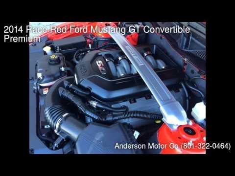 2014 Race Red Ford Mustang GT Convertible Premium - Salt Lake City, UT 84111 - Used Cars
