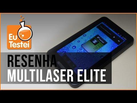 Multilaser Elite NB003 Tablet - Vídeo Resenha EuTestei Brasil