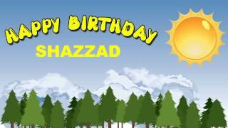 Shazzad - balloons - Happy Birthday