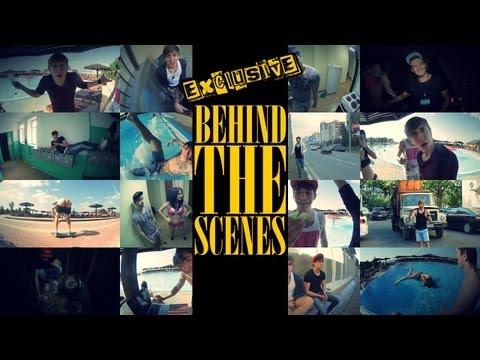 Behind The Scenes (EXCLUSIVE)