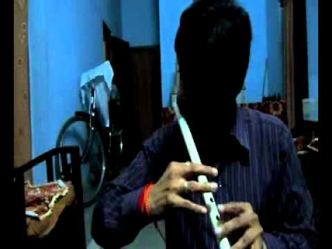 Tu hi re tere bina main kaise jiyun - on Flute.by Praveen Sharma...