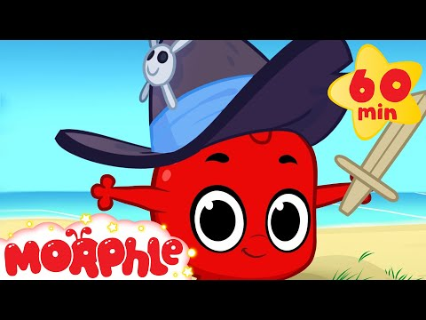Morphle And Pirates!  1 hour funny Morphle kids videos compilation