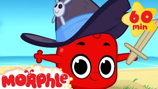 Morphle And Pirates! (+1 hour funny Morphle kids videos compilation)