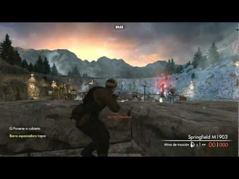 Sniper elite v2 Online Game Play + Actualizacion Pach 1.04