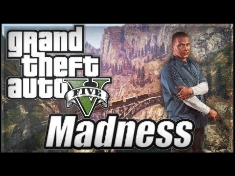GTA 5 - Random FUNNY Moments in Free Roam! (Trains. Planes. and Wrecks)
