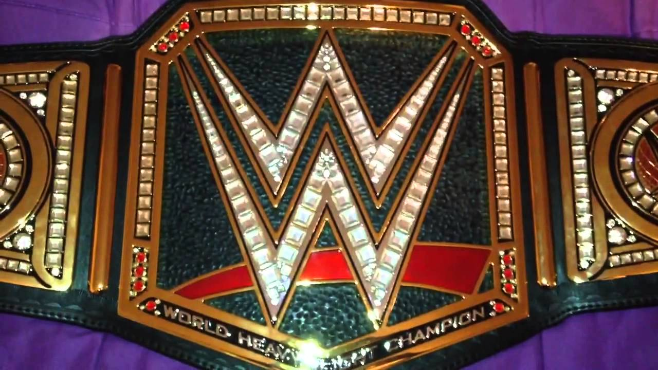 Wwe World Heavyweight Championship Belt 2014 2014 WWE World Heavyweight