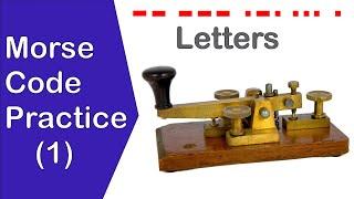 Morse Code Alphabet Receiving Practice