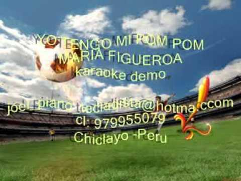 Yo Tengo Mi Pom Pom - Karaoke Demo.2.mpg video