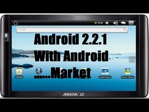 Update Arnova 10 With Android 2.2.1 (firmware with android market, superuer, applib)