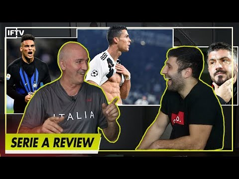 IS SERIE A ALREADY OVER? its not
