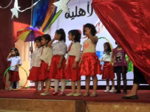 حفل رياض الأطفال مدارس نخبة نجد music