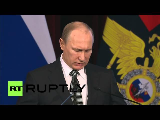Russia: Putin says Ukraine crisis a product of 'extreme militant nationalism'