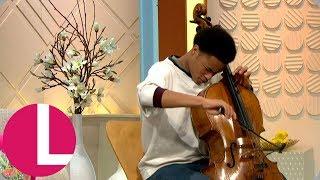 Royal Wedding Cellist Sheku Kanneh Mason Performs Live On Lorraine Lorraine