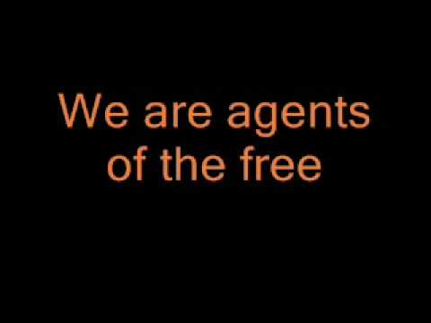 REM - Orange Crush with lyrics Video