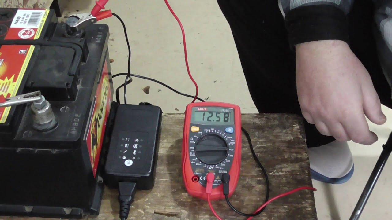 Как зарядить аккумулятор в 29