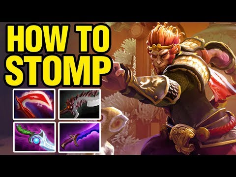 HOW TO STOMP - 33 Plays Monkey King - Dota 2