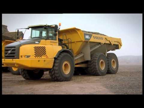 Volvo-Dumper A35EFS - A40EFS - YouTube