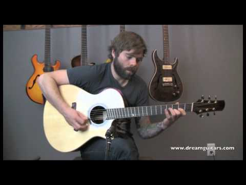Jordan McConnell performs at Dream Guitars