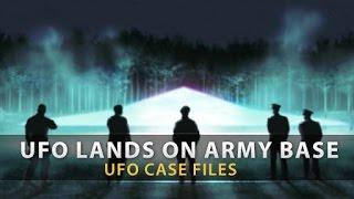 UFO Lands on ARMY BASE | UFO Case Files