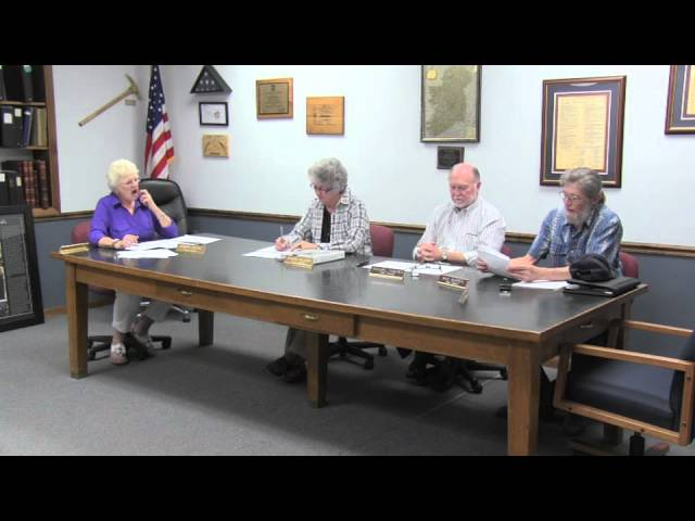 Lakeview Town Hall regular session meeting 7-22-2014