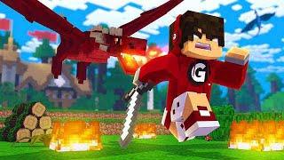 Minecraft - ENCONTREI UM SUPER DRAGÃO DE FOGO! GAME OF DRAGONS #2 ✭ Guihh ✭