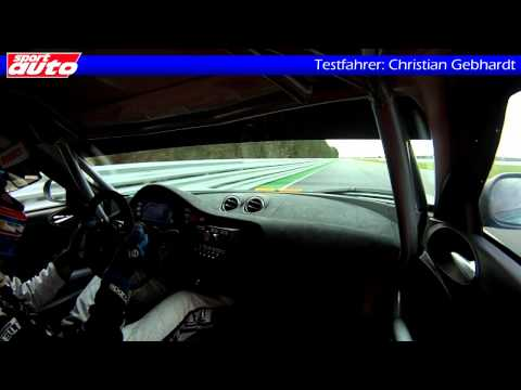 Lotus Evora Cup GT4 Tracktest sport auto Christian Gebhardt Onboard