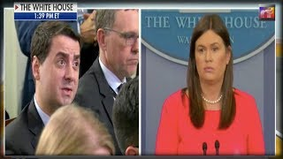 Reporter Asks About Trump's 'Animals' Comment - Sanders FLOORS The Whole Room