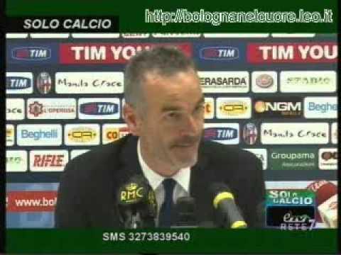 Bologna FC 1909 – Juventus 1-1 07/03/2012 Pioli in sala stampa