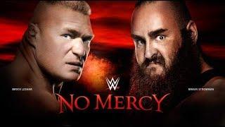 WWE No Mercy 2017 Review: Brock Lesnar vs Braun Strowman