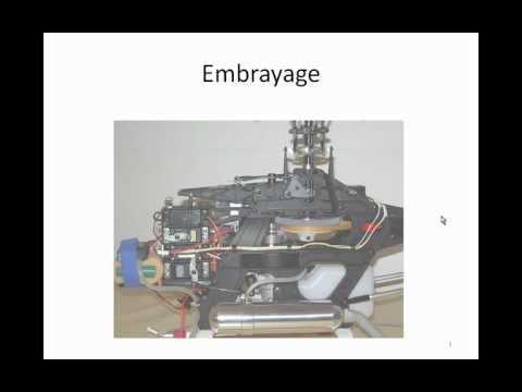 Webcast - Mécanique d'un hélico RC