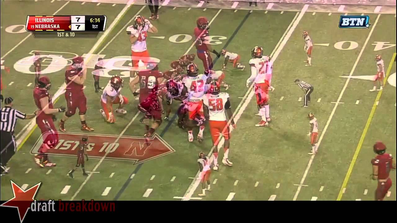 Ameer Abdullah vs Illinois (2014)