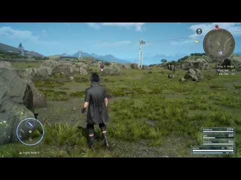 Final Fantasy XV - I Didn't Crash the Game Yet But...