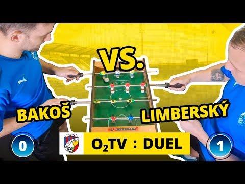 O2 TV Duel: David Limberský a Marek Bakoš hrají fotbálek